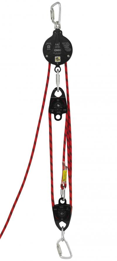 P+P R-ALF Rescue Pulley System 5:1 10m #90603/10M/SP